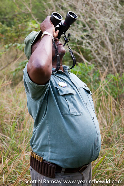 Sonto Tembe, bird guide and naturalist.