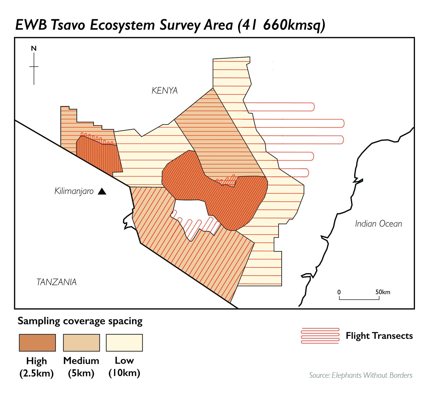 EWB survey area Tsavo