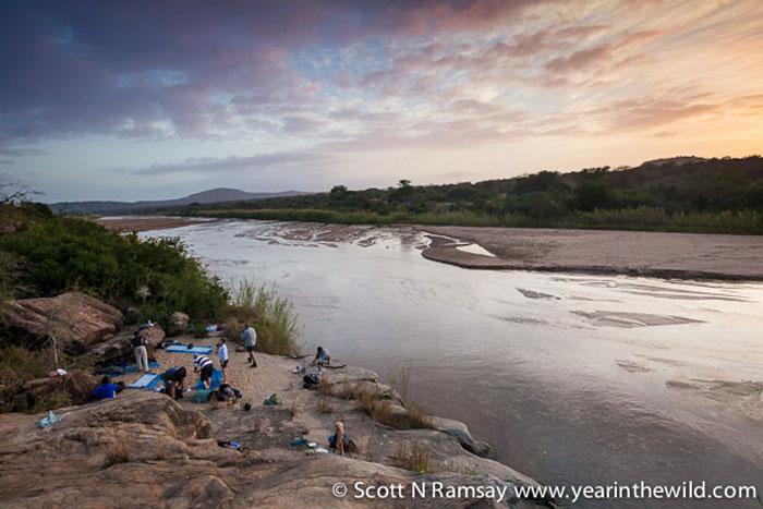 Hluhluwe-Imfolozi-riverbed-camping-Scott-N-Ramsay-www.yearinthewild