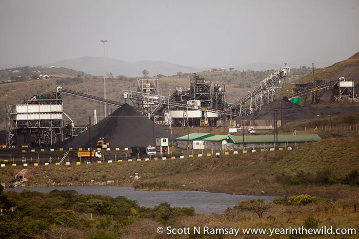 The-processing-plant-of-Somkhele-Mine,-one-of-two-existing-mines-near-Hluhluwe-Imfolozi-Park