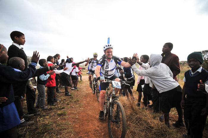 Community-cyclist--iSimangaliso