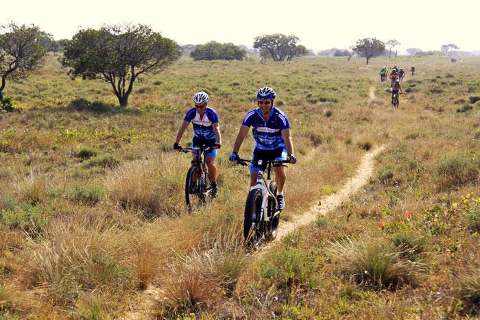 Cyclist--iSimangaliso