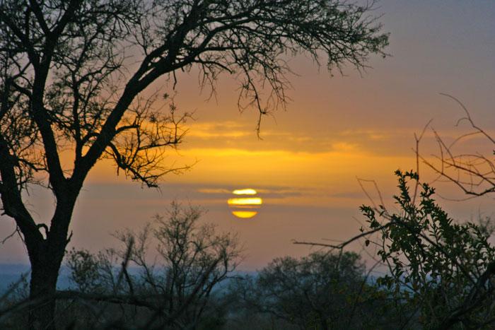 A Kruger sunrise.