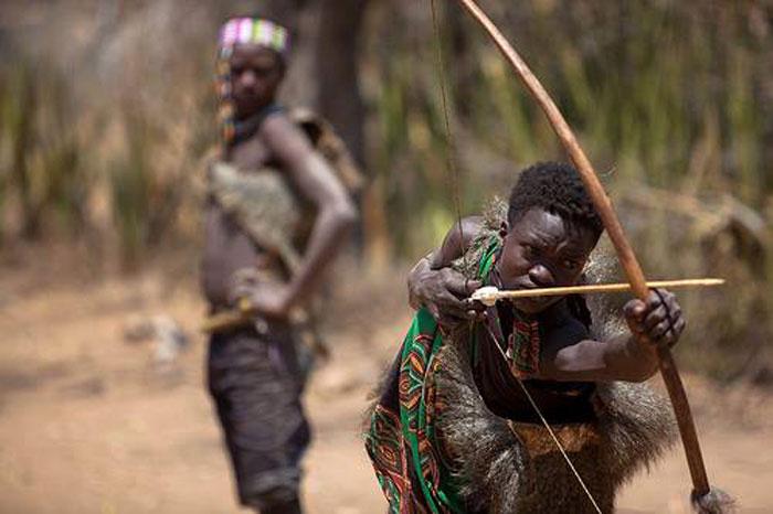 Hadzabe-hunting
