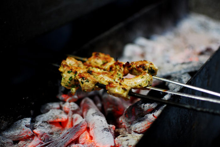 Freshly-grilled-kebabs