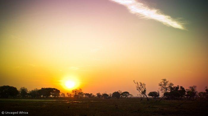Liuwa-Plain-National-Park-African-Parks-sunset