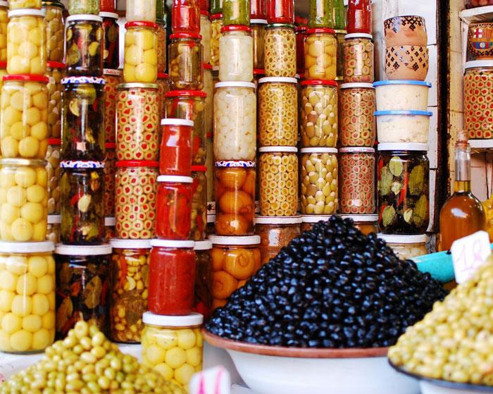 Olive-Souk-market