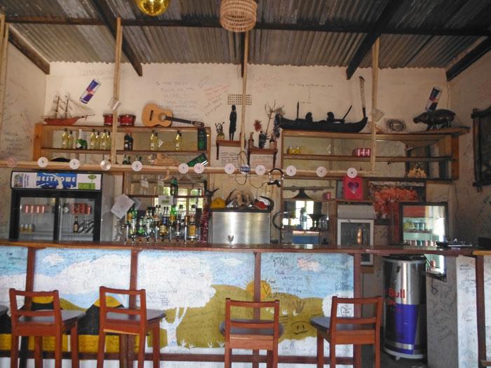 A bar at Santa Maria.