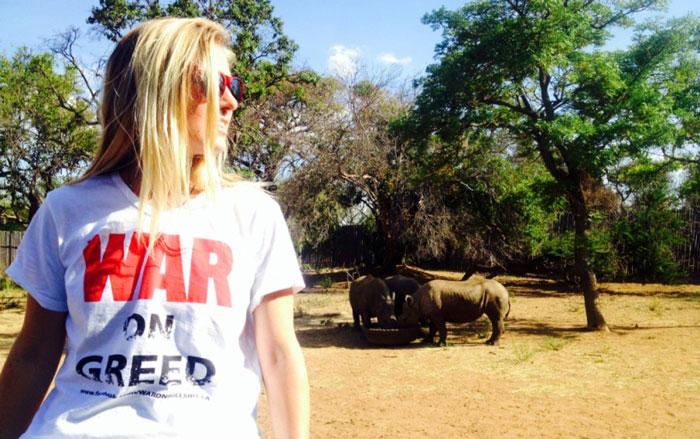 Jamie-Joseph-with-the-rhino-orphans-of-Limpopo