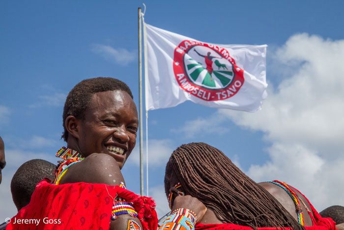 The Maasai Olympics is reaching young men with a conservation message across the Amboseli ecosystem.