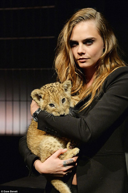 cara-delevingne-lion-cub-tag-heuer-watches