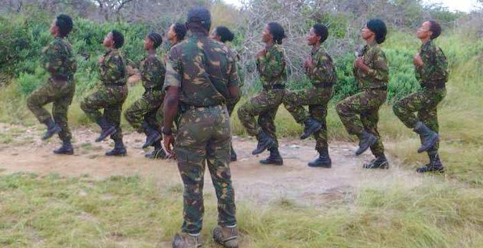 woman anti-poaching unit