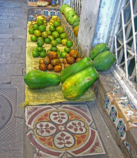fruit in zanzibar