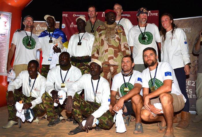 african parls team running ennedi