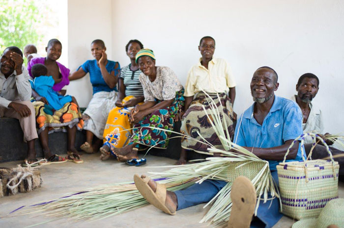 weaving mats