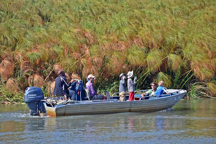 botswana boat trip