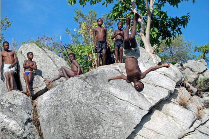 jumping lake malawi
