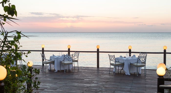 fine dining in Mozambique
