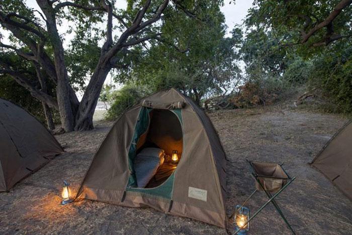 chobe botswana camping