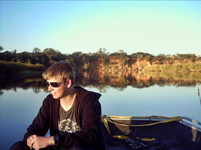 fishing okavango