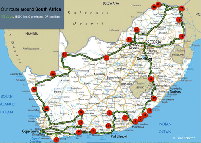 wilderness south africa map Into The Wild At Wilderness National Park Africa Geographic wilderness south africa map