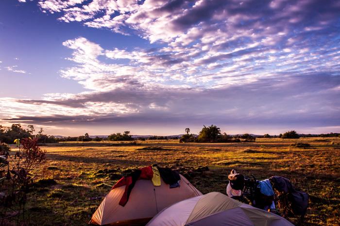 Bush Camp uganda