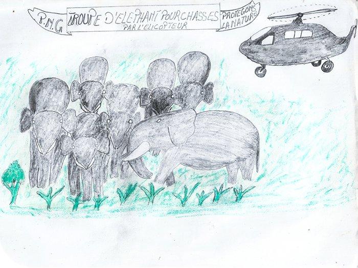 school children artwork