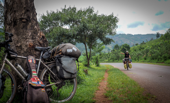 cycling Uganda