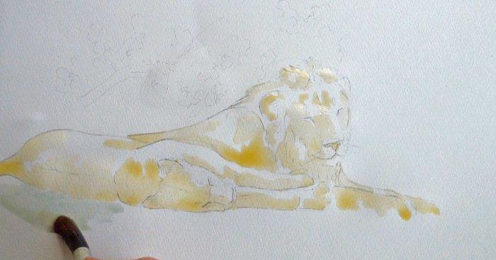 lion-painting-art-safari