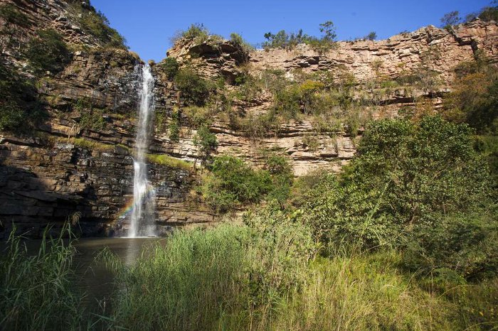 mzinyathi waterfall