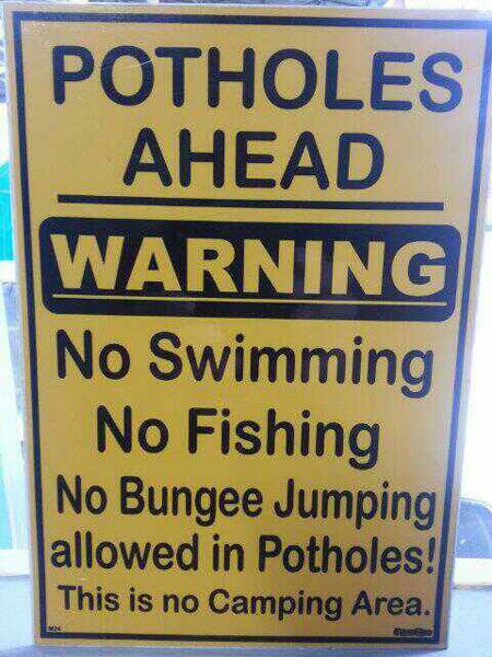 10 funny signs from Africa! - Africa Geographic