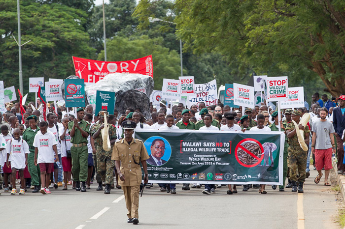 stop wildlife crime march