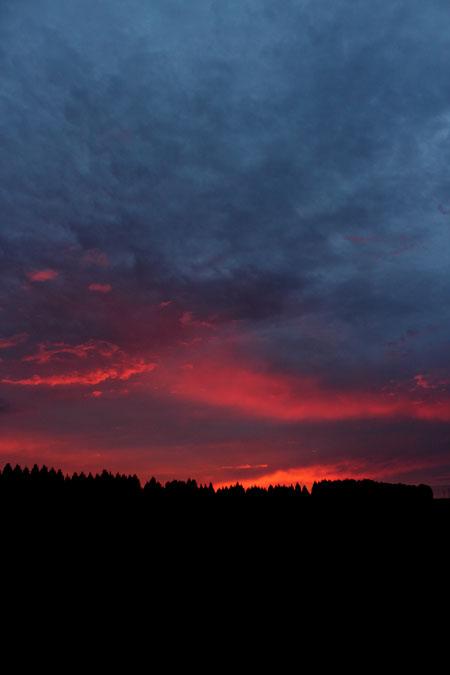 sunset--drakensberg