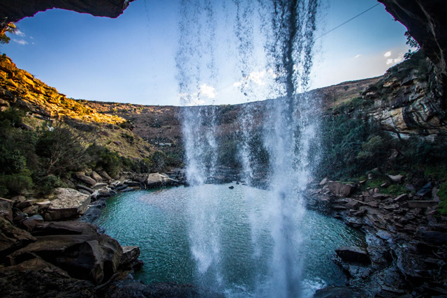 Over The Falls And Off The Grid Tsitsa Falls Eastern Cape Africa Geographic
