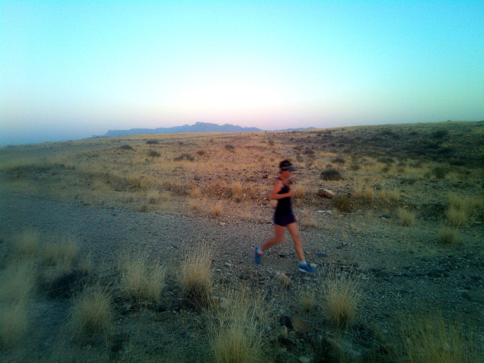 BRANDBERG run