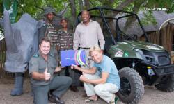 addo anti-poaching atv