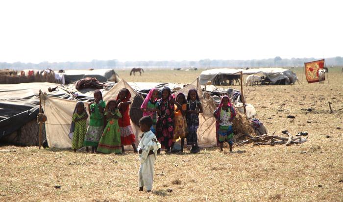 Ouled Rachid nomadic tribe