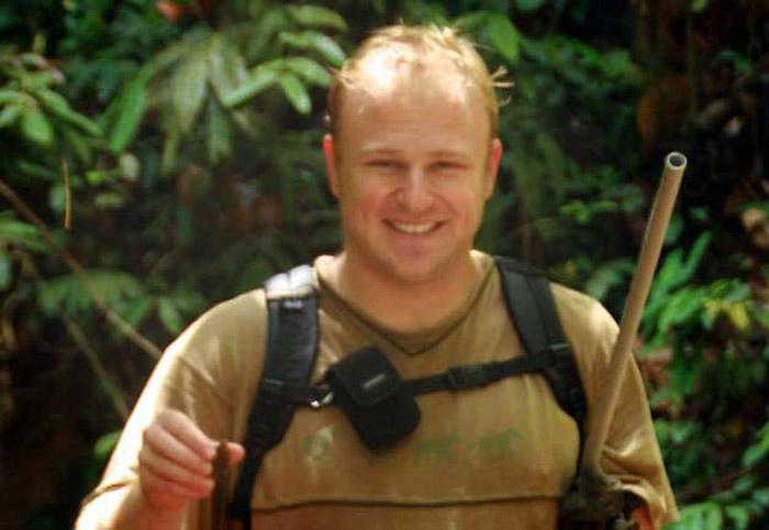 Stellenbosch University (SU) entomologist, Dr James Pryke