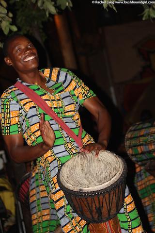 Zimbabwean drummer