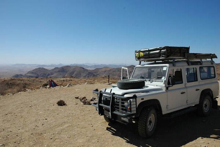 Self-drive in Namibia