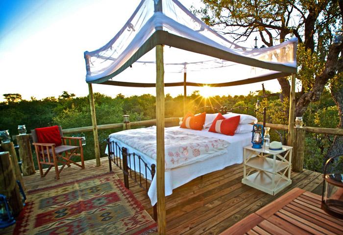 Star bed at Tanda Tula