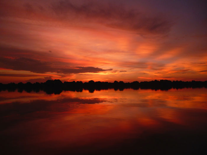 Kafue River Sunset