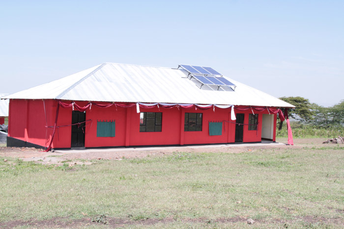 New pre-school for Maasai community