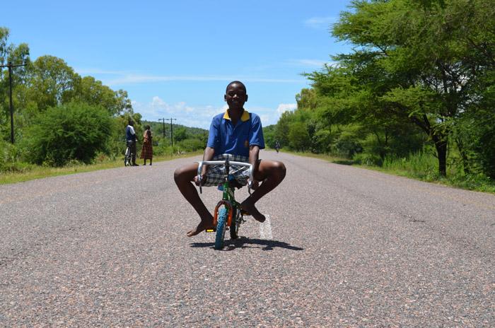 Having fun in Malawi