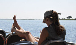 Boat ride on the Chobe River