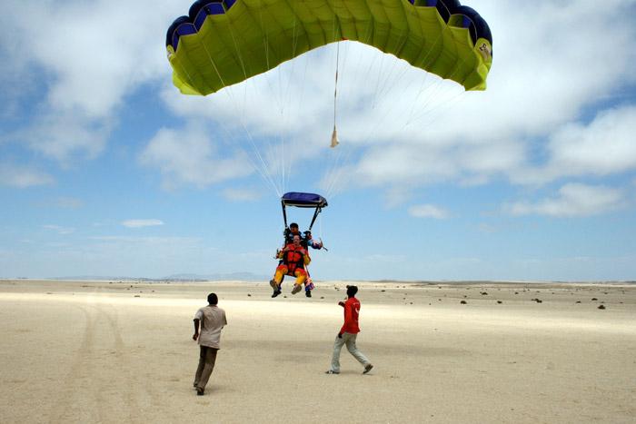 Skydiving in Swakopmund