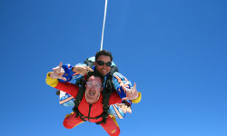 Tandem skydive in Namibia