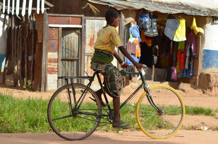 Cycling through Tanzania