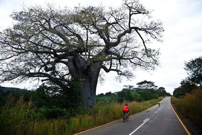 Cycling through Zambia