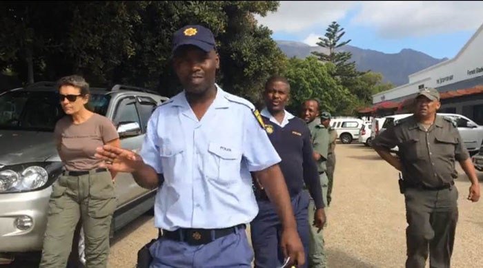 Founder of Baboon Matters intimidated by SAPS